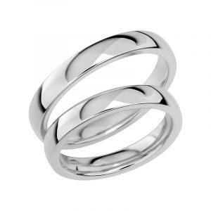 Schalins Förlovningsring Sign Of Love SR1032 18K Platina  - Jewelrybox.se
