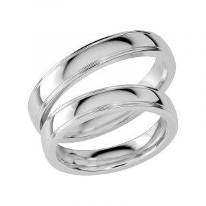 Schalins Förlovningsring Sign Of Love SR1033 18K Platina  - Jewelrybox.se