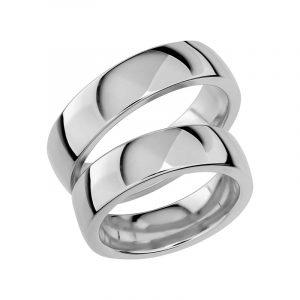 Schalins Förlovningsring Sign Of Love SR1035 18K Platina  - Jewelrybox.se