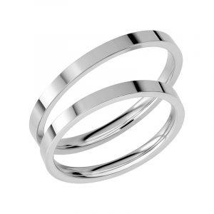 Schalins Förlovningsring Sign Of Love SR1036 18K Platina  - Jewelrybox.se
