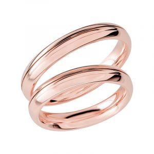 Schalins Förlovningsring Sign Of Love SR1047 18K Roséguld  - Jewelrybox.se