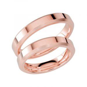 Schalins Förlovningsring Sign Of Love SR1054 18K Roséguld  - Jewelrybox.se