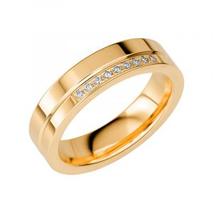 Schalins Vigselring Sign Of Love SR2041 18K Guld 0