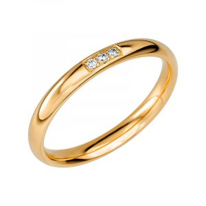 Schalins Vigselring Sign Of Love SR2044 18K Guld 0