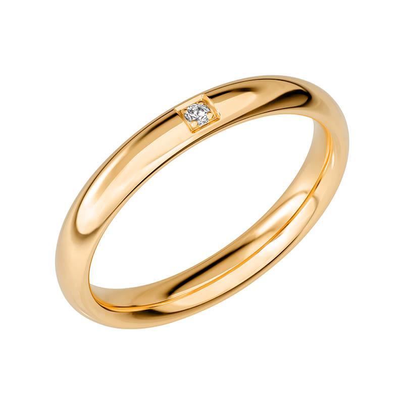 Schalins Vigselring Sign Of Love SR2045 18K Guld 0
