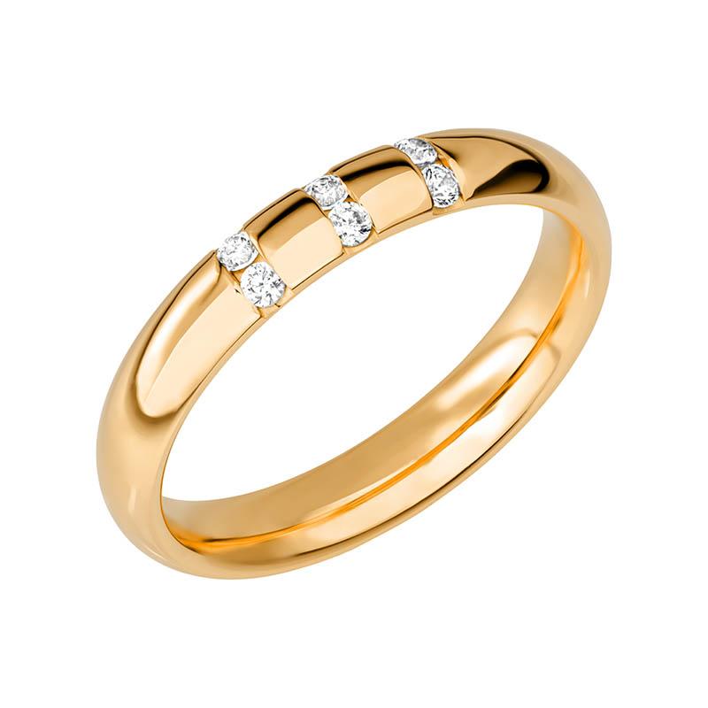 Schalins Vigselring Sign Of Love SR2046 18K Guld 0