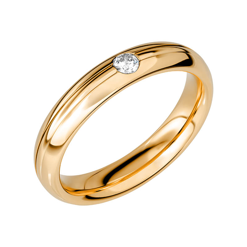 Schalins Vigselring Sign Of Love SR2047 18K Guld 0