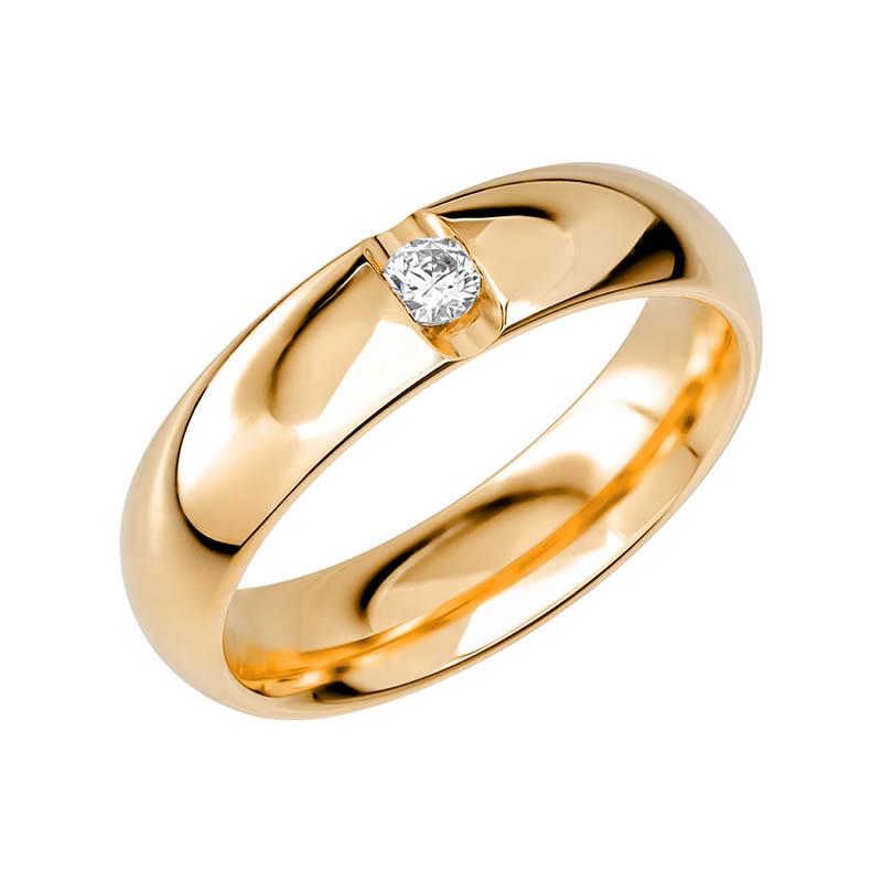 Schalins Vigselring Sign Of Love SR2048 18K Guld 0