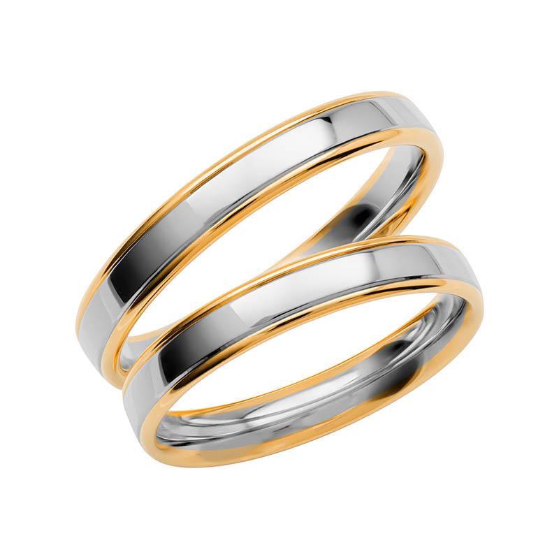 Schalins Förlovningsring Color Of Love SR3001 18K Guld/Vitguld
