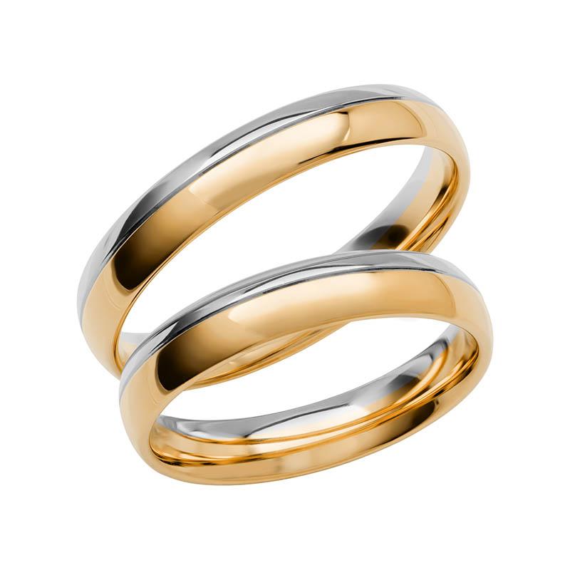 Schalins Förlovningsring Color Of Love SR3002 18K Guld/Vitguld