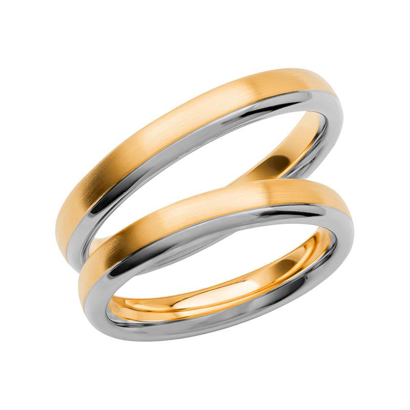 Schalins Förlovningsring Color Of Love SR3003 18K Guld/Vitguld