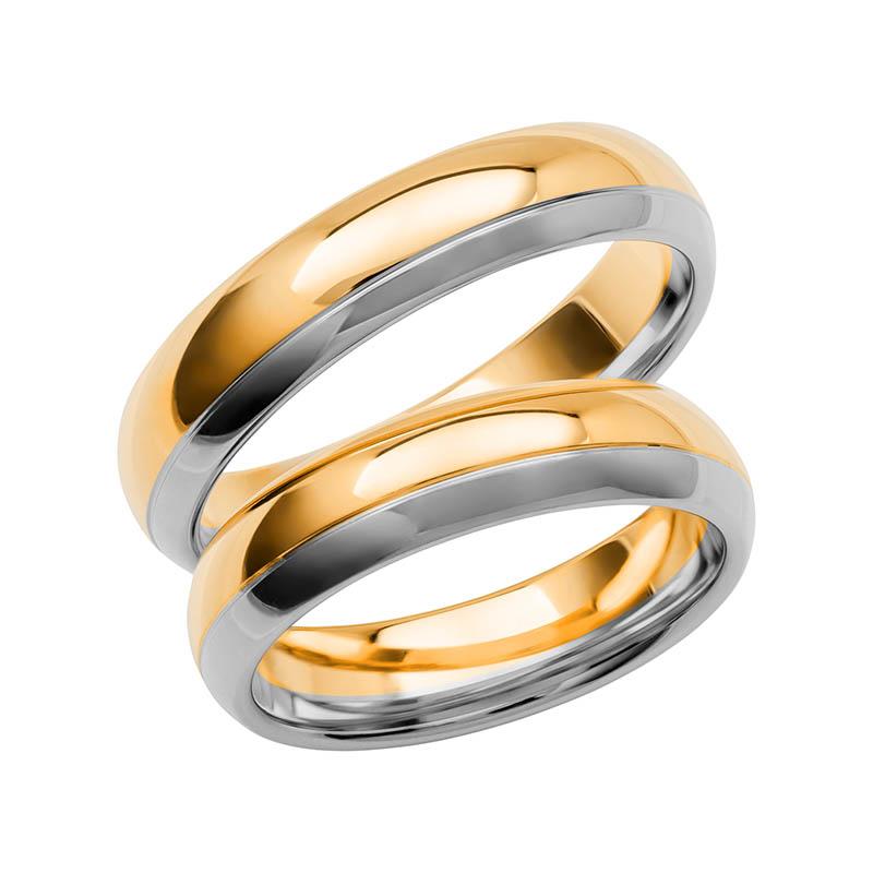 Schalins Förlovningsring Color Of Love SR3008 18K Guld/Vitguld