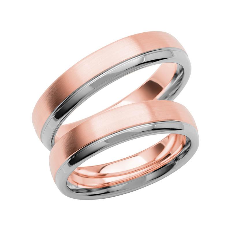 Schalins Förlovningsring Color Of Love SR3009 18K Roséguld/Vitguld