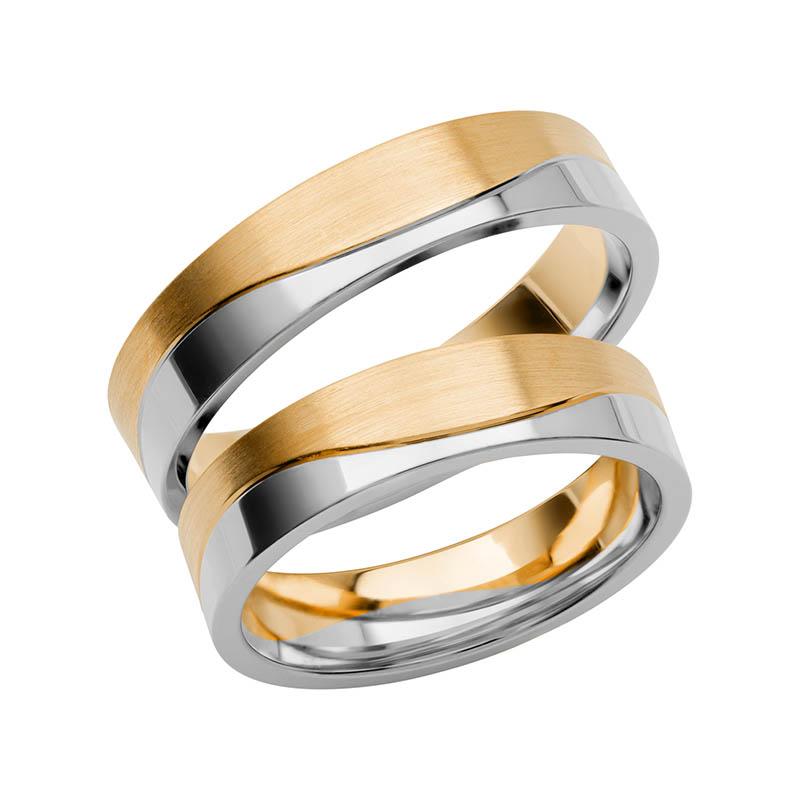 Schalins Förlovningsring Color Of Love SR3011 18K Guld/Vitguld
