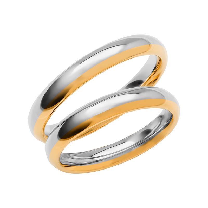 Schalins Förlovningsring Color Of Love SR3012 18K Guld/Vitguld