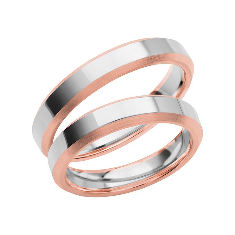 Schalins Förlovningsring Color Of Love SR3013 18K Roséguld/Vitguld