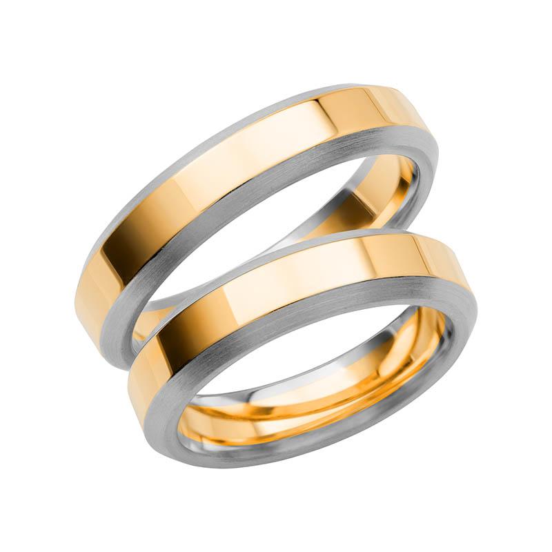 Schalins Förlovningsring Color Of Love SR3014 18K Guld/Vitguld
