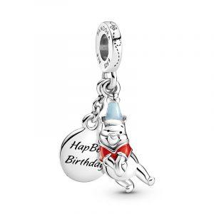 Disney Nalle Puhs Födelsedag Hängberlock från PANDORA