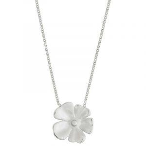 Floral Necklace L Steel från Edblad