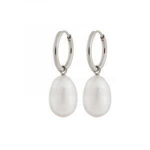 Perla Earrings Steel från Edblad