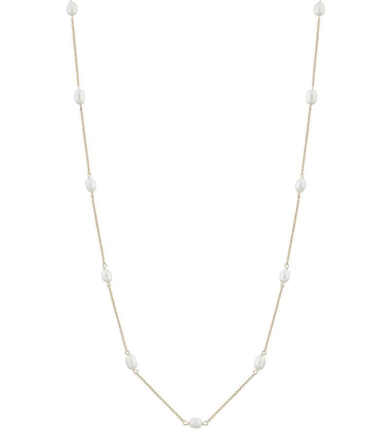 Edblad Perla Necklace Multi Long Gold