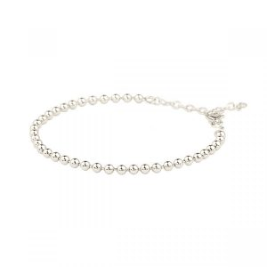 Globe Bracelet Silver från Emma Israelsson, fri frakt på Jewelrybox.se