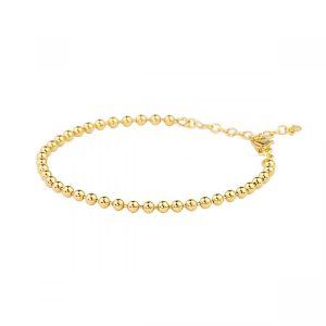 Globe Bracelet Gold från Emma Israelsson, fri frakt på Jewelrybox.se