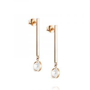 Little Day Pearl Earrings Guld från Efva Attling