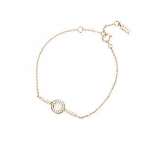 Little Day Pearl & Stars Bracelet Guld från Efva Attling