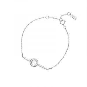 Little Day Pearl & Stars Bracelet Vitguld från Efva Attling