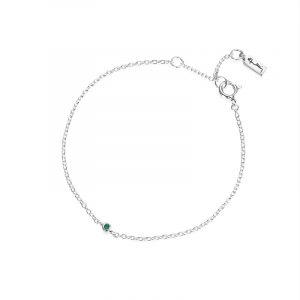Micro Blink Bracelet - Green Emerald från Efva Attling
