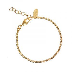 Diamond Chain Bracelet Gold från Caroline Svedbom