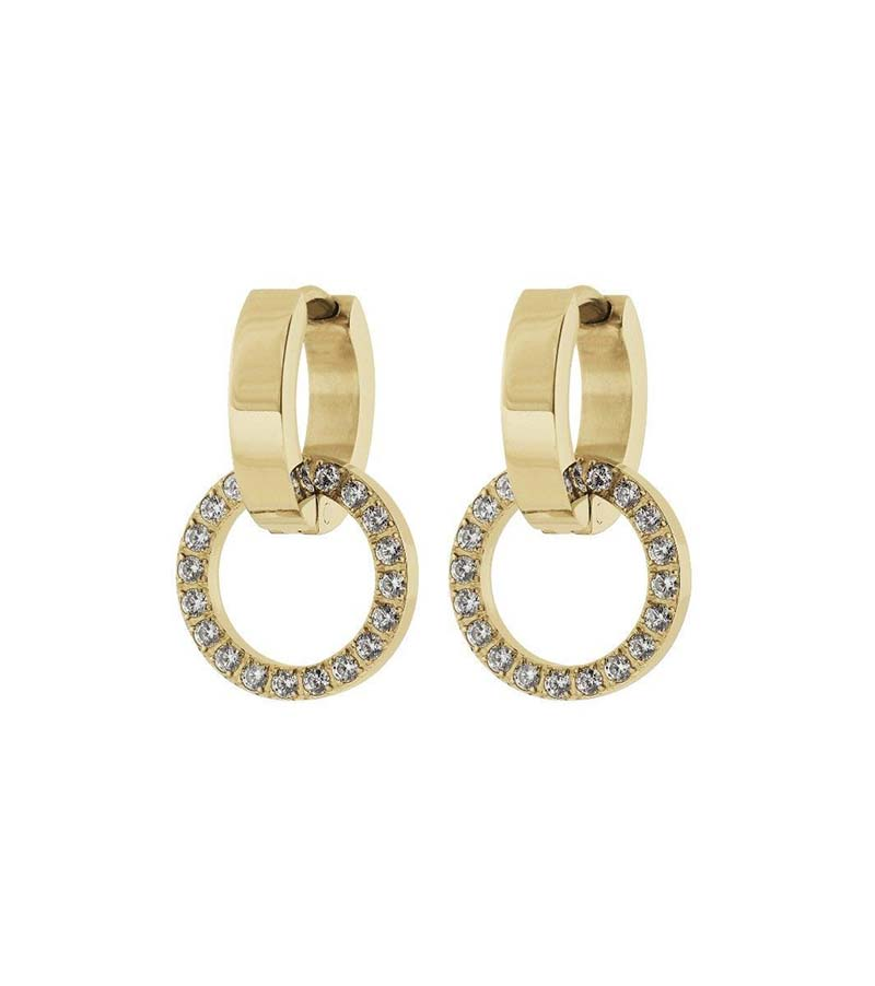 Edblad Eternal Orbit Earrings Gold