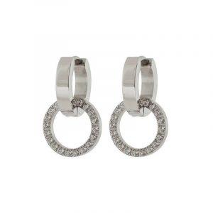 Eternal Orbit Earrings Steel från Edblad