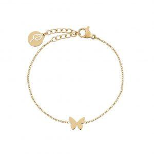 Papillon Bracelet Child Gold från Edblad