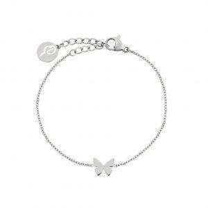 Papillon Bracelet Child Steel från Edblad