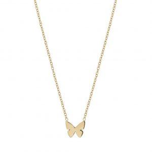 Papillon Necklace Child Gold från Edblad