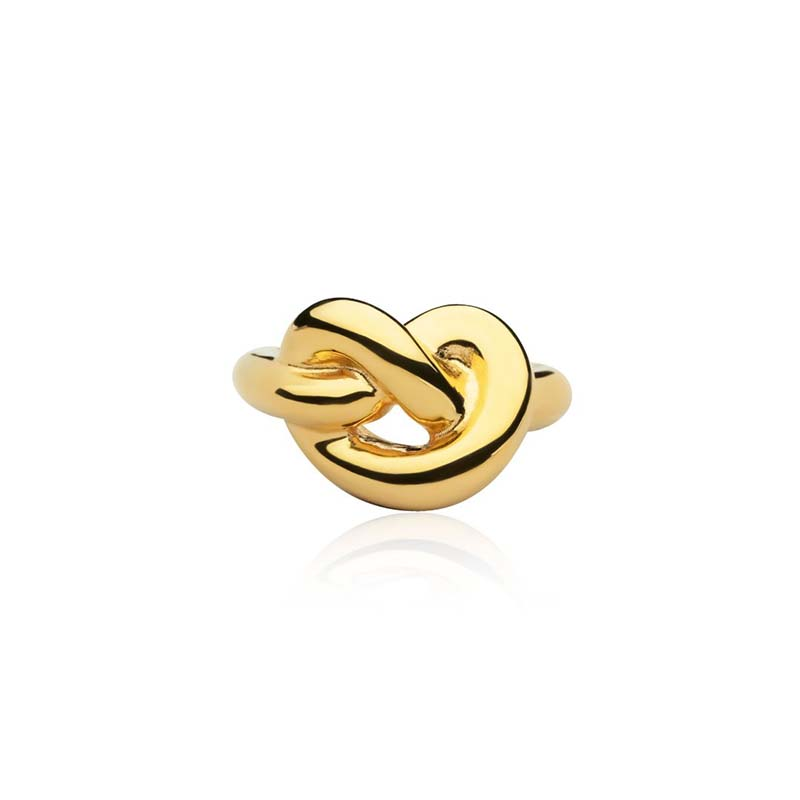 Sophie by sophie knot giant ring - gold