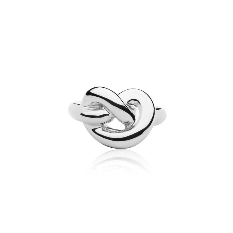 Sophie by sophie knot giant ring - silver