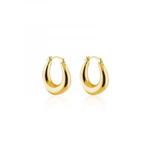Bold Small Hoops - Gold från SOPHIE by SOPHIE