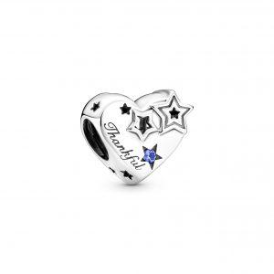 Berlock med Hjärtan och Stjärnor från PANDORA