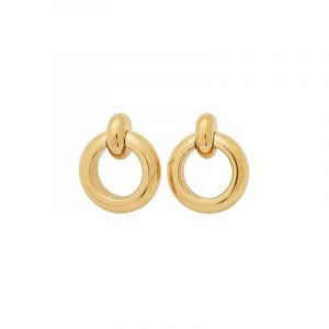 Enso Earrings Gold från Edblad
