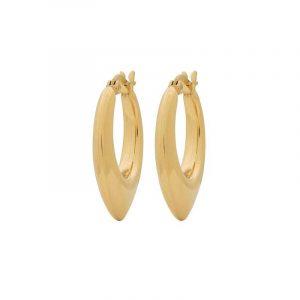 Relic Hoops S Gold från Edblad