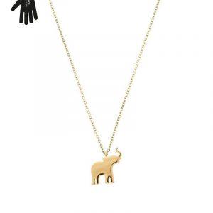 Vigor Necklace Child Gold från Edblad