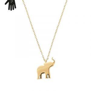 Vigor Necklace Gold från Edblad