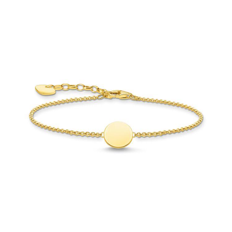 Armband Bricka Guld