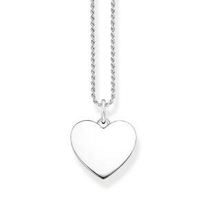 Halsband Tvinnad Kedja Hjärta - Thomas Sabo halsband - Snabb frakt & paketinslagning - Jewelrybox.se